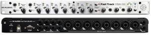 La M-Audio Fast track ultra 8 R, 8 entrées / 8 sorties