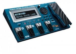 Le Roland GR 55 est le dernier né de la série GR, pédaliers convertisseur MIDI. Le GR55 est ultra complet avec un looper, de la modélisation d'ampli, et bien sur un expandeur MIDI intégré.