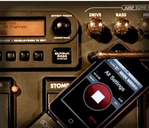 MIDI Memo recorder de Line 6 permet d'utiliser son iPhone comme bloc note (de musique) ou comme périphérique de stockage de dumps matériel