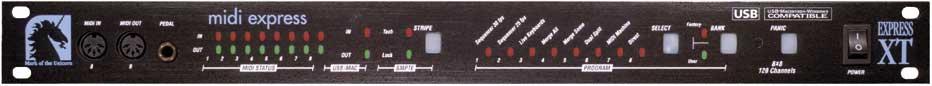 L'ancienne MIDI Express XT USB, un bon plan, mais rare... !