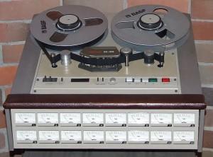 Produit entre 1974 et 1979, le Tascam 85-16 coûtait 10,000$US à l'époque. Aujourd'hui il serait vendu environ 30,000$US ! (Source photo : Wikipedia)