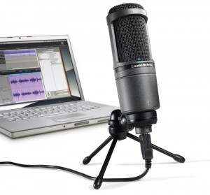 L'Audio Technica 2020 USB est un micro USB qui a reçu beaucoup de bonnes critiques et son prix reste très raisonnable.