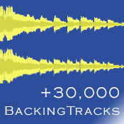 + de 30000 backing tracks qualité studio !
