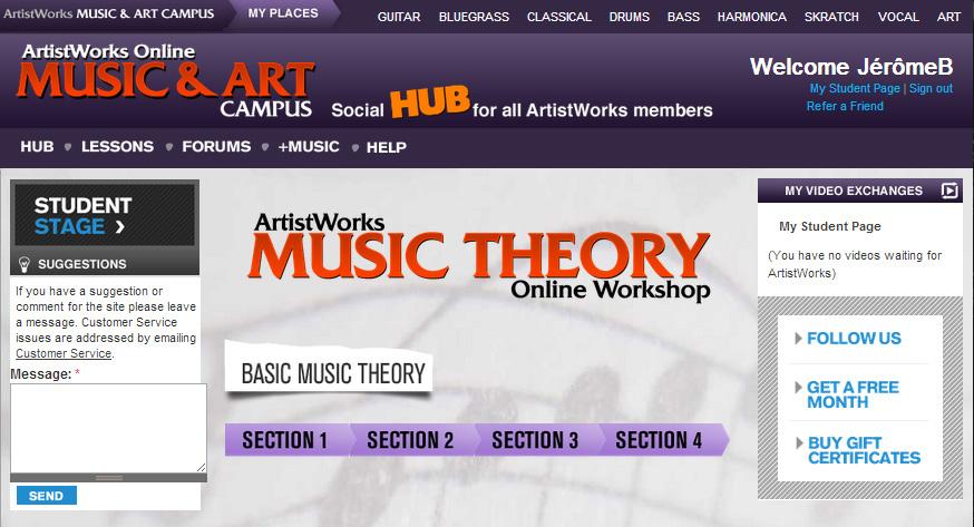 Inclus, un accès à des cours de théorie musicale !