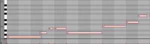 Notes MIDI dans Live!