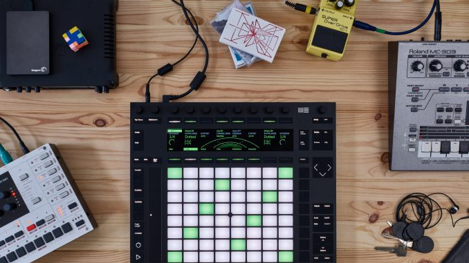 Ableton Live 10 Push Echo